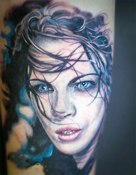 tatuaggi realistici verona Luke Red
