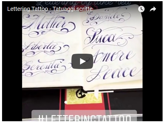 Tatuaggi con scritte – Come e dove  (video)