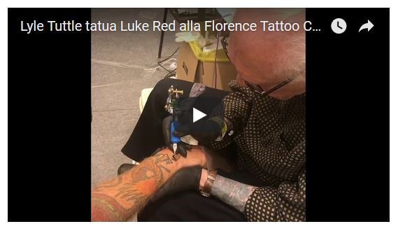 Florence Tattoo Convention (video)