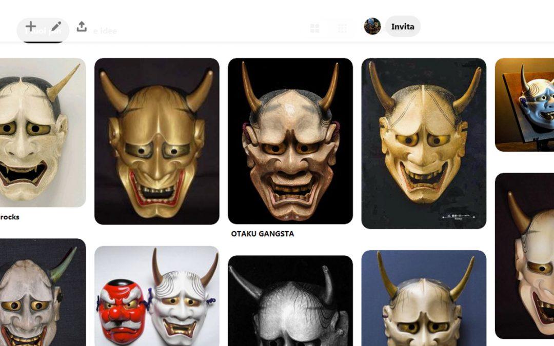 Una nuova galleria su pinterest dedicata all'hannya