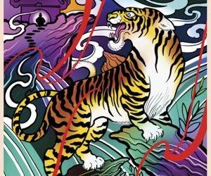 La tigre nel tatuaggio orientale [significato e simbologia]