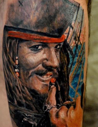 Tatuaggi realistici a verona luke red