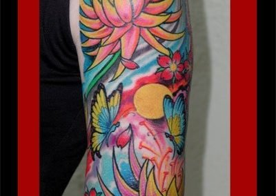 tatuaggio GIAPPONESE JAPAN TATTOO BY LUKE RED TATTOO VERONA DOMEGLIARA