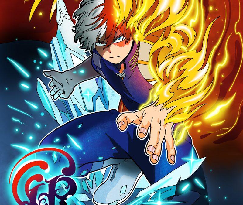 Nuovi disegni dei vostri eroi anime by Luke Red – Todoroki shouto