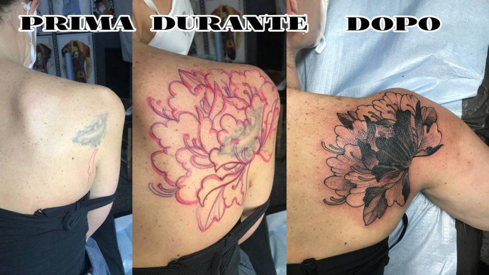 cover up tattoo copretura vecchio tatuaggio