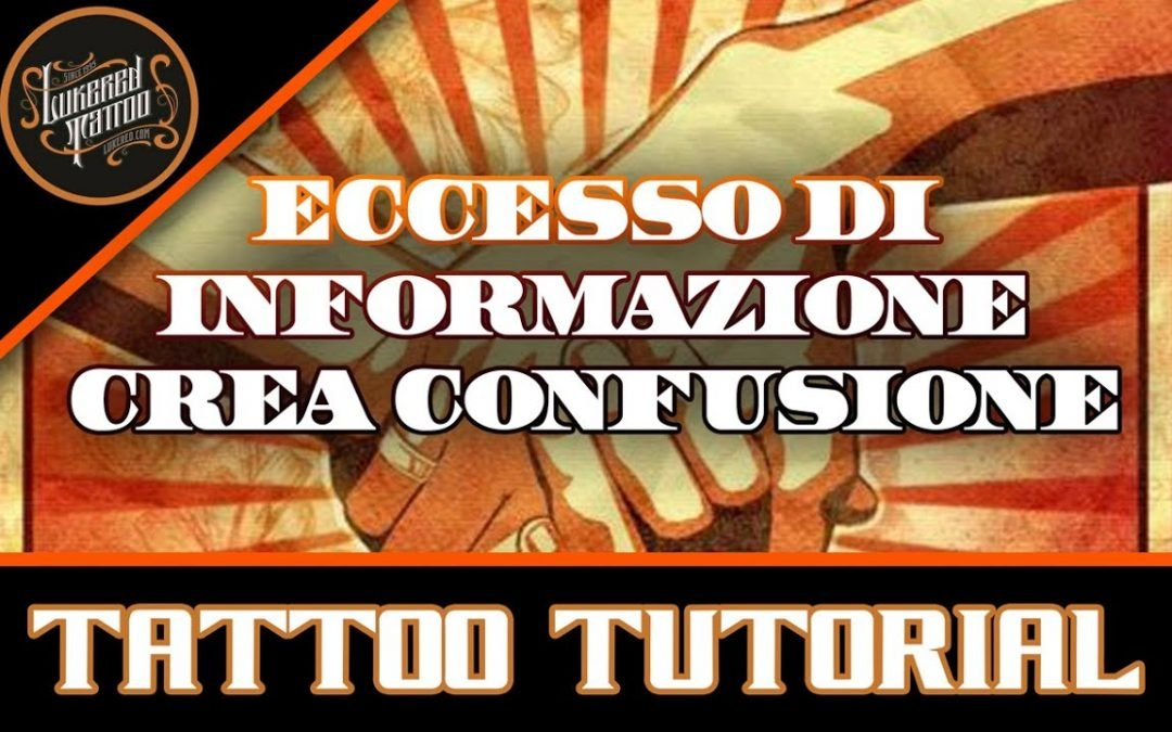 L'eccesso di informazione, troppa informazione crea confusione