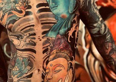 body tattoo japanese - tatuaggio giapponese tutto il corpo