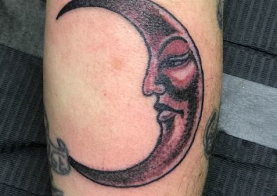 LUNA tatuaggio by Luke Red tattoo